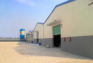 乐千年涂料工厂生产区