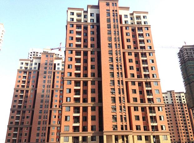 芜湖奇瑞新里程小区真石漆工程案例