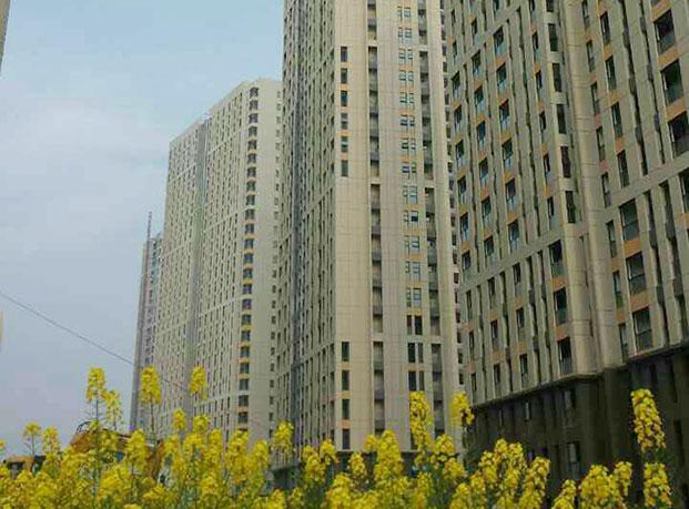 芜湖香城湾真石漆工程案例