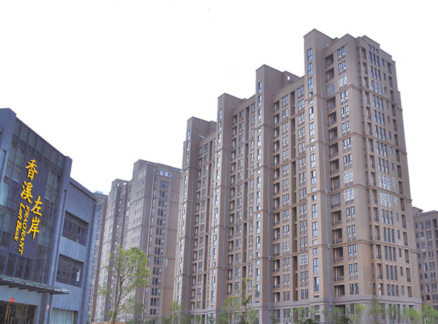 徐州香溪左岸真石漆工程案例
