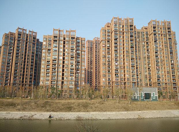 长丰鑫城世家真石漆工程案例