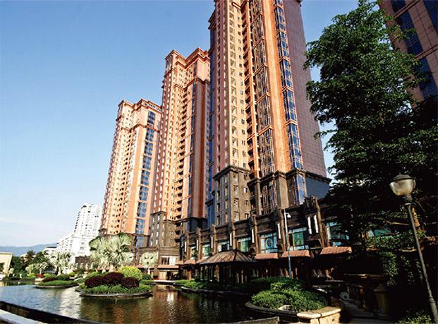 福州阳光白金瀚宫一体板工程案例